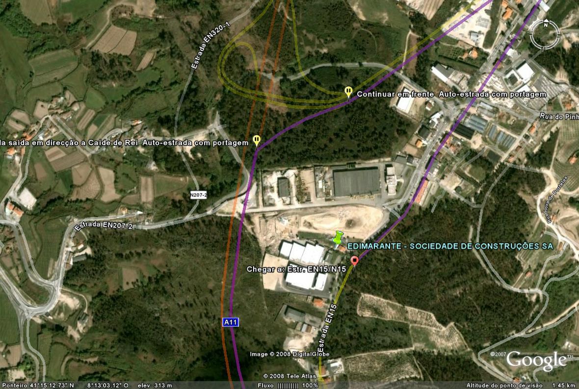 Mapa de Localização da Edimarante - Clique para aumentar